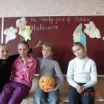 Проведение праздника Хелловин в Симферопольском филиале центра обучения английскому языку Лардан