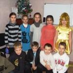 Проведение праздника Нового 2011 года в Симферопольском филиале центра обучения английскому языку Лардан